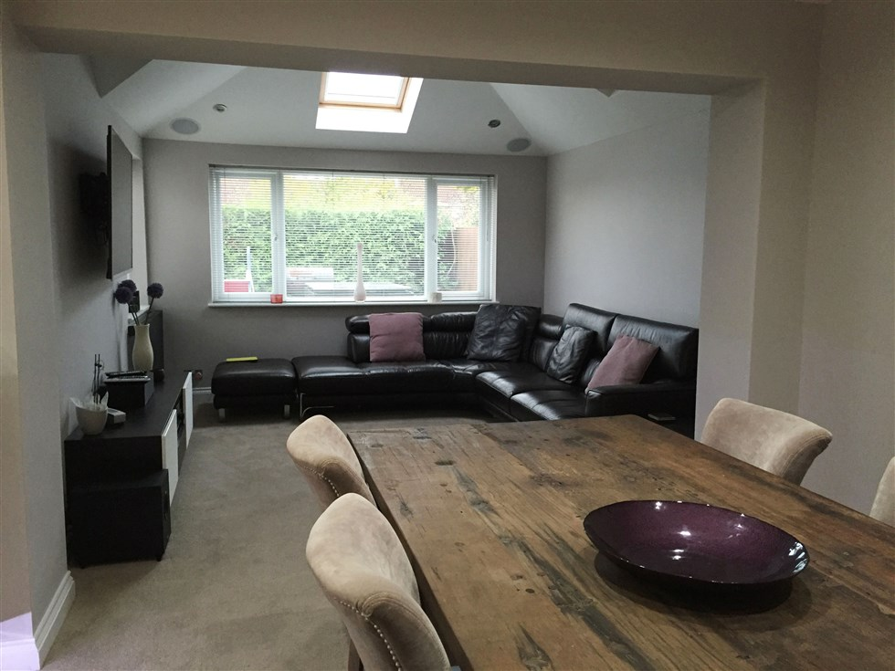 House Extension With New Kitchen Cm Projects