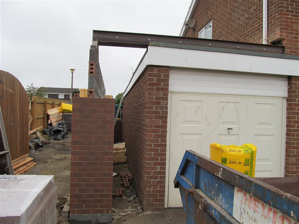 Over Garage Extension Cm Projects