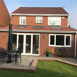 Single storey extension, Cramlington 2