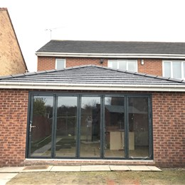 Single storey extension, Cramlington 1