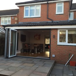 Garage conversion & back extension, Cramlington