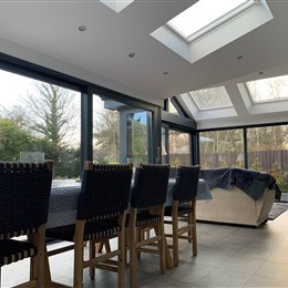 Single storey extension, Morpeth